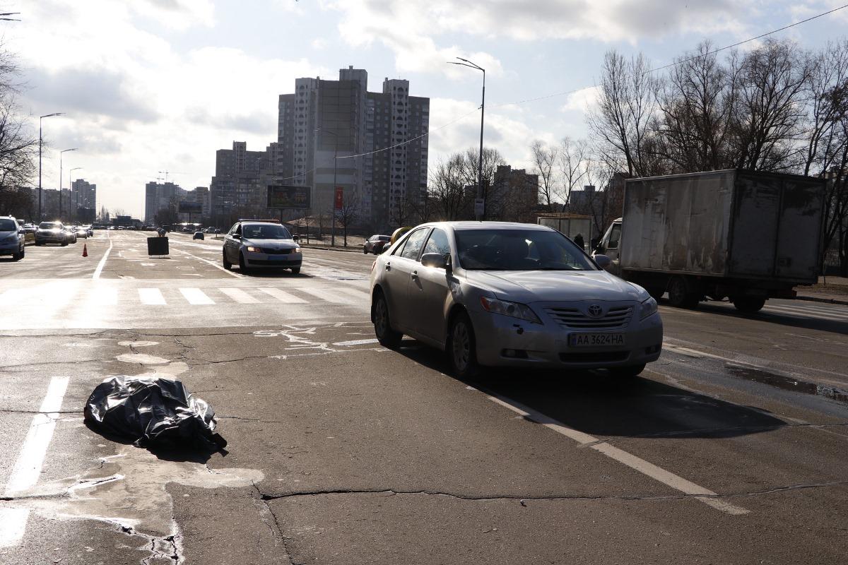 Автомобиль Toyota Camry сбил женщину