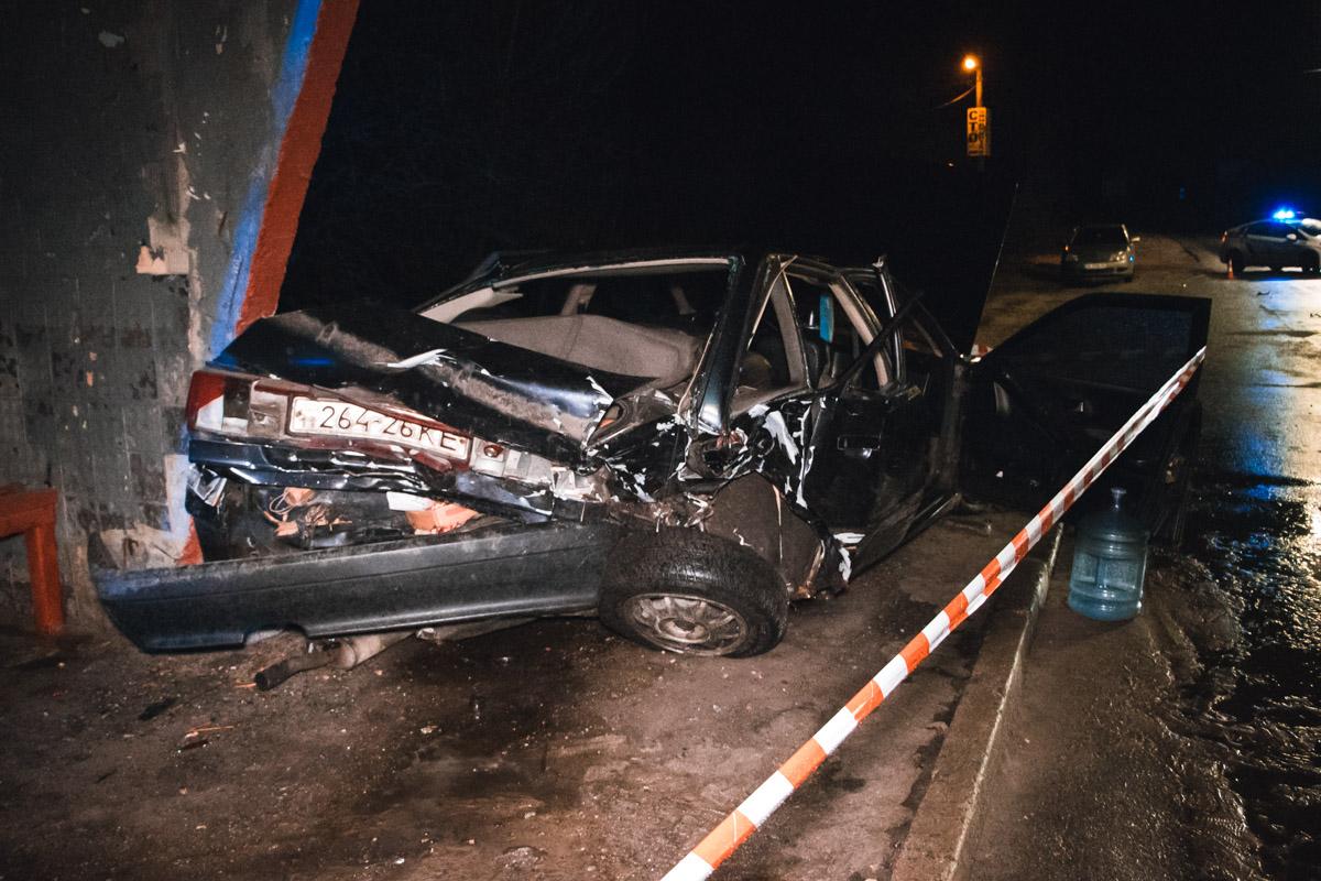 В ДТП пострадали три женщины. Это водитель и пассажирки Audi