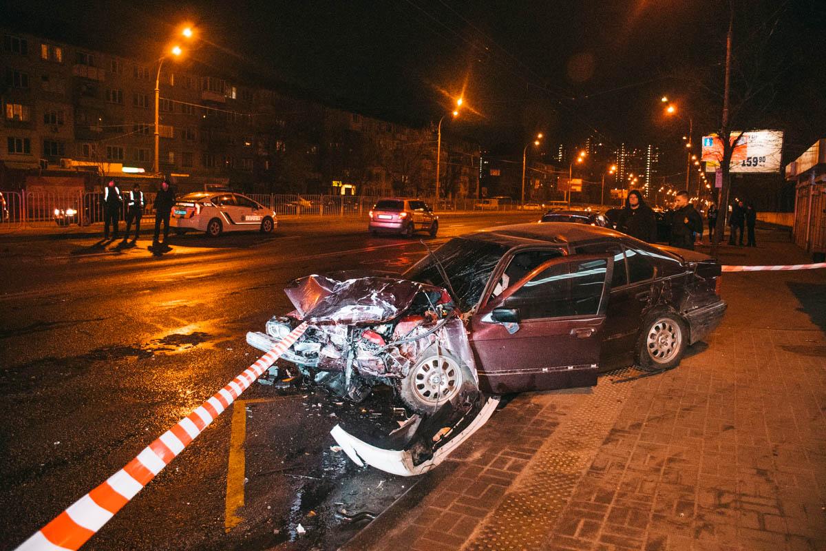 Инцидент случился около 22:00