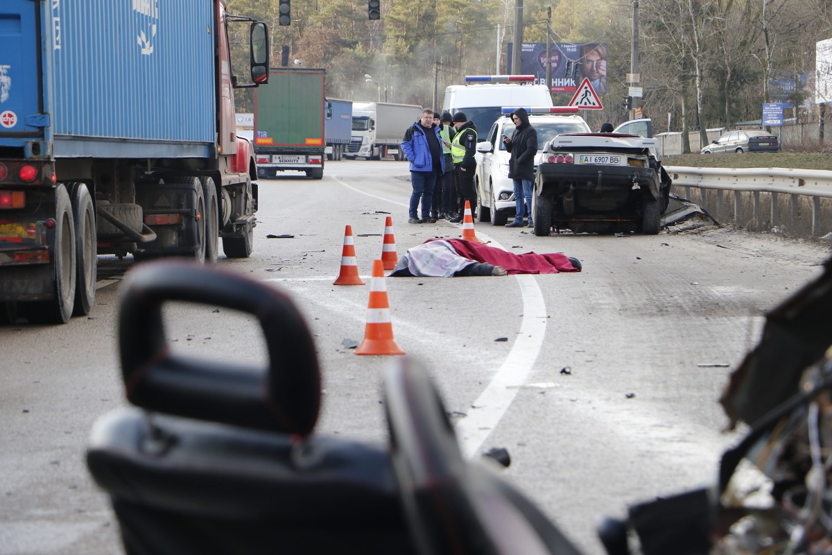 В результате аварии погиб мужчина