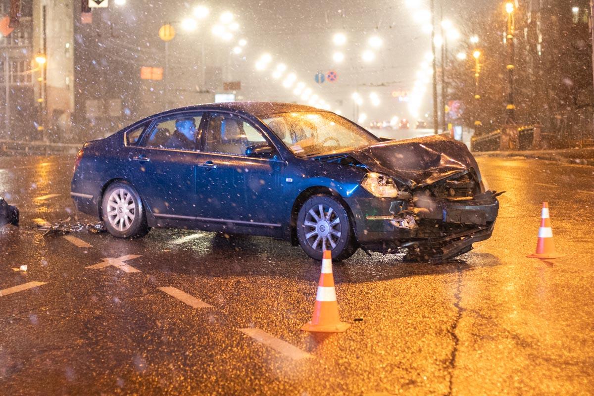 Инцидент случился около 21:30