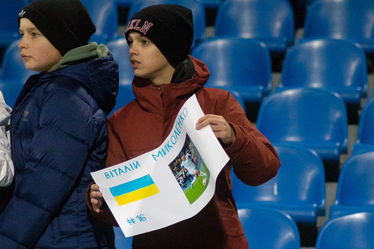 """Хоть матч проходил при пустых трибунах, на матч допускались школьники до 14 лет, которых """"динамовцы"""" порадовали победой"""