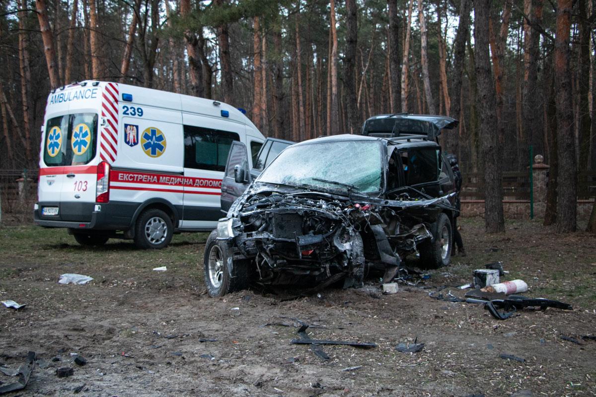 В субботу, 29 февраля, в Дарницком районе Киева, на выезде из столицы, произошла серьезная авария