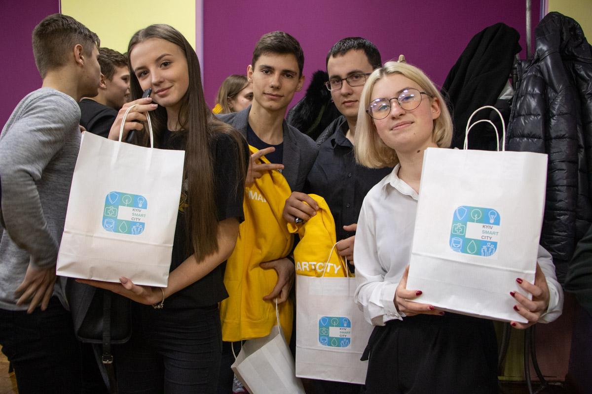 Победителей квеста наградили призами