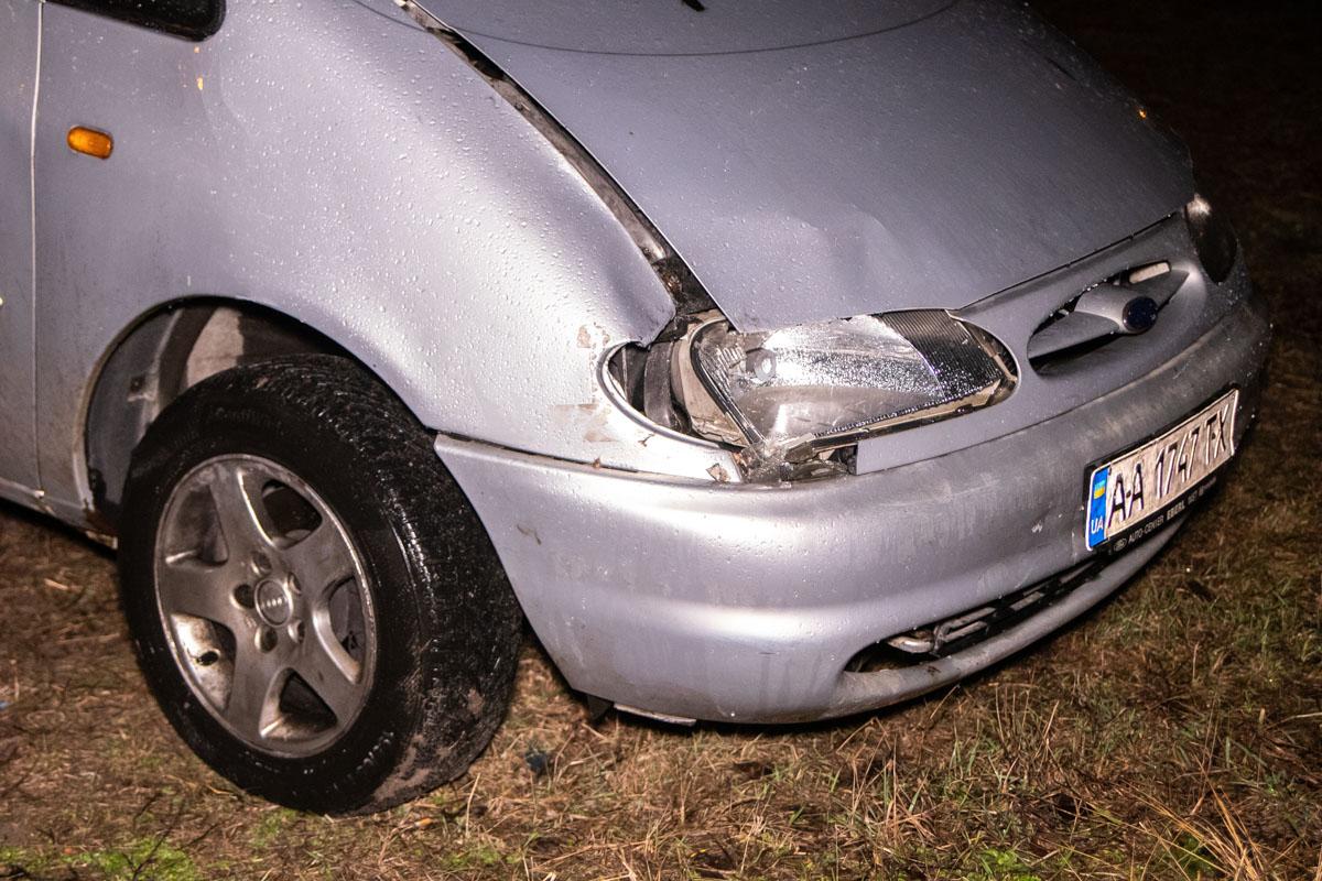 Ford подходил под описание свидетелей и на нем были характерные повреждения