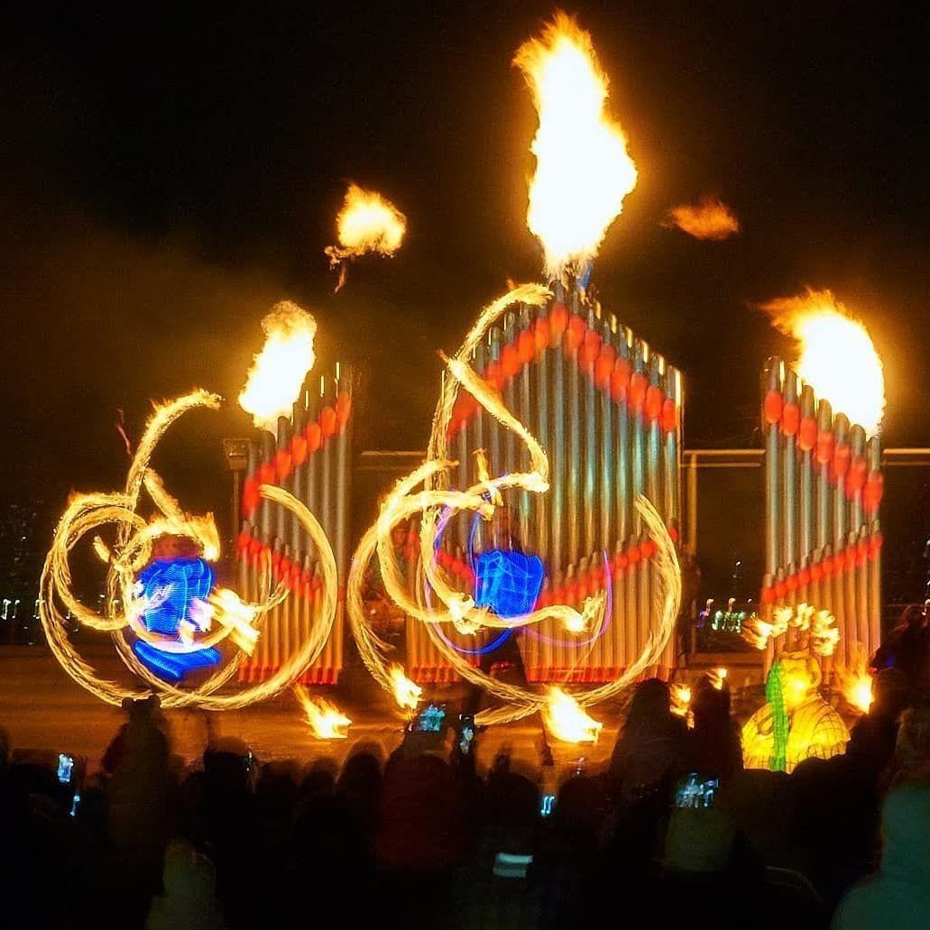 В Киеве на Певческом поле пройдет фестиваль огня