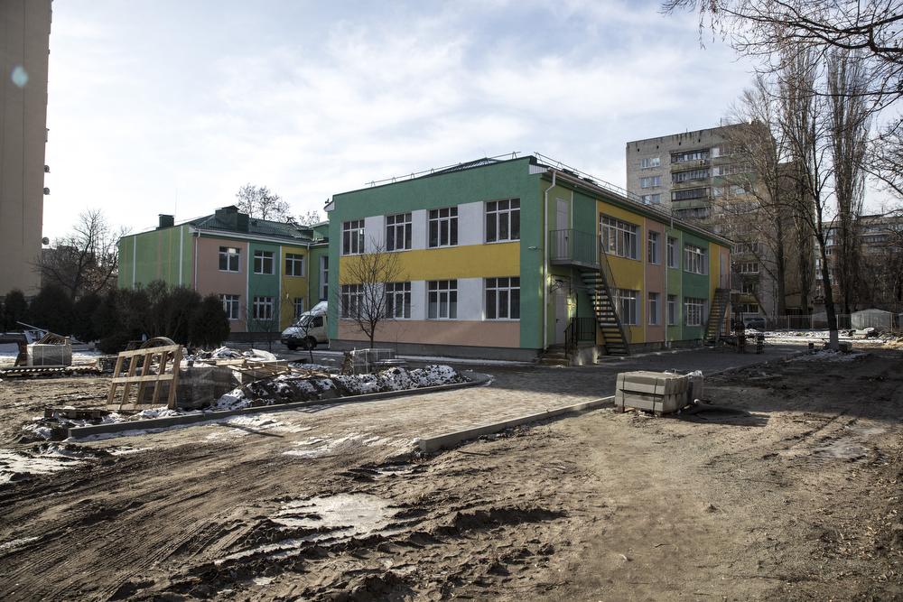 В детском саду на Приорке проводится реконструкция