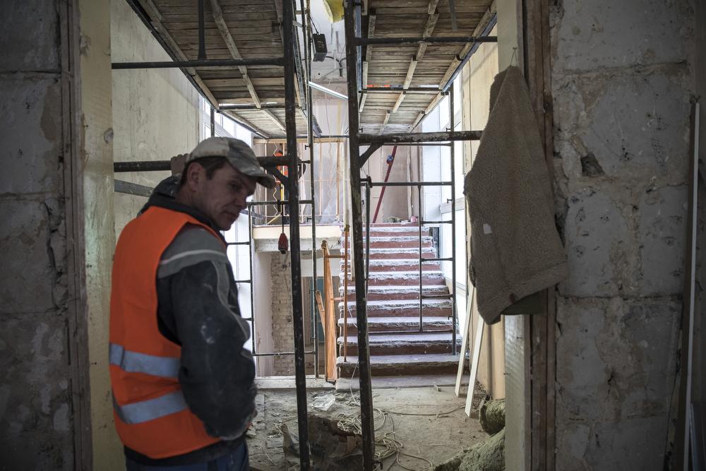 Откроется обновленный детский сад уже в мае