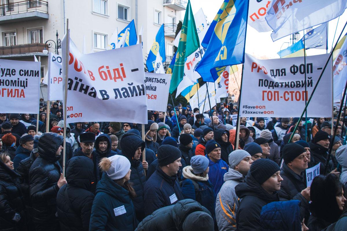 Предприниматели приехали из разных регионов Украины