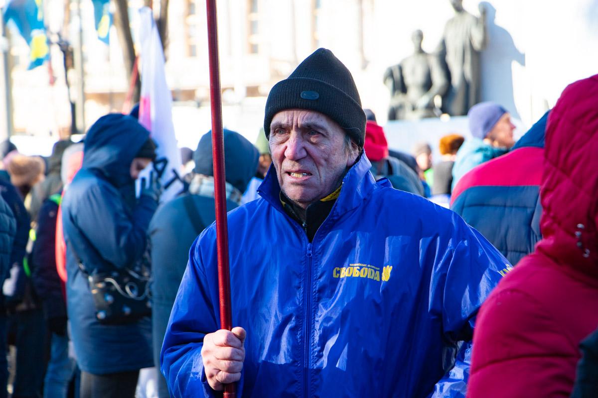 Протесты проходят без провокаций