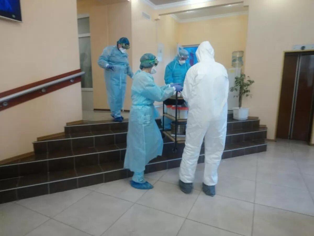 Одной из иностранок, находящихся в Новых Санжарах на карантине, потребовалась помощь врачей