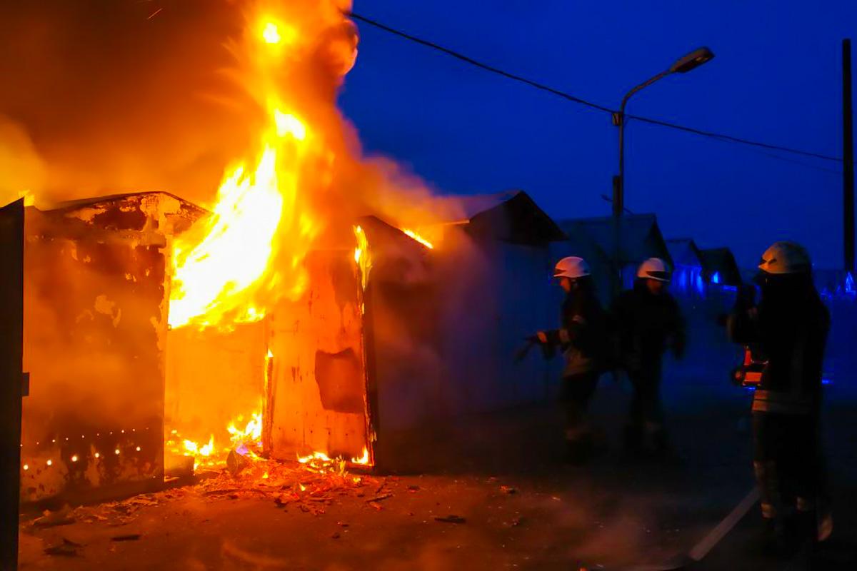 11 февраля в Киеве по адресу улица Северная, 3 произошел пожар