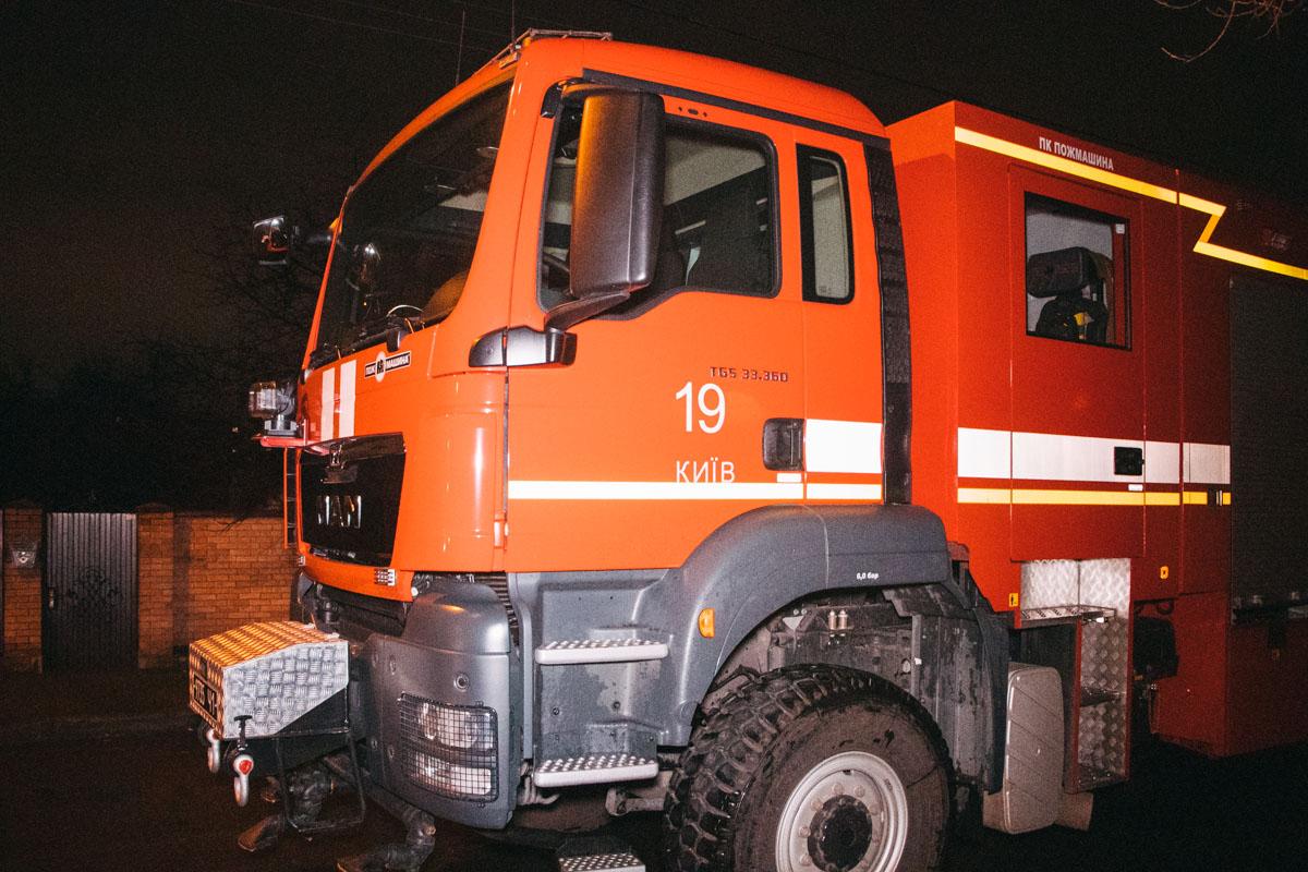 Ликвидировать возгорание удалось при помощи трех единиц техники