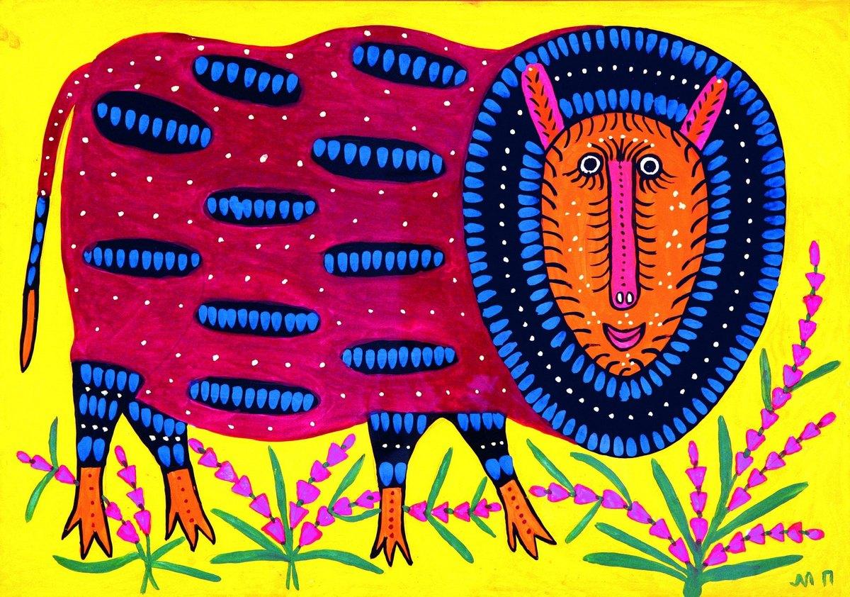 Сказочные звери на картинах нашей украинки