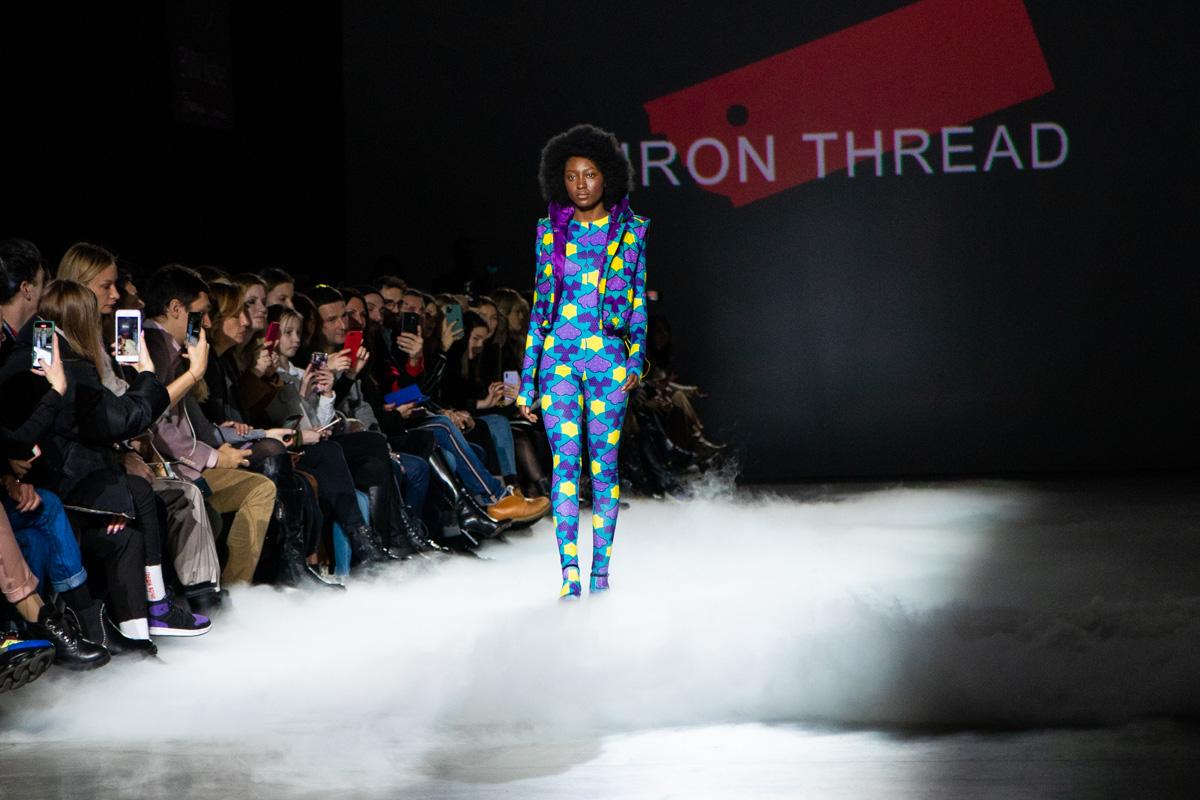 Коллекция с яркими африканскими принтами, которые не были ранее на арене украинского мира моды