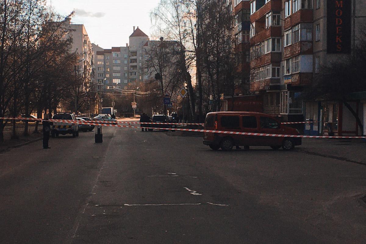 19 февраля в городе Белая Церковь Киевской области полицейские остановили автомобиль