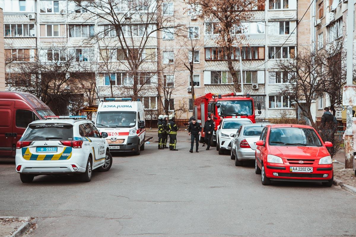 15 марта в Киеве по адресу проспект Владимира Маяковского, 20 произошел пожар