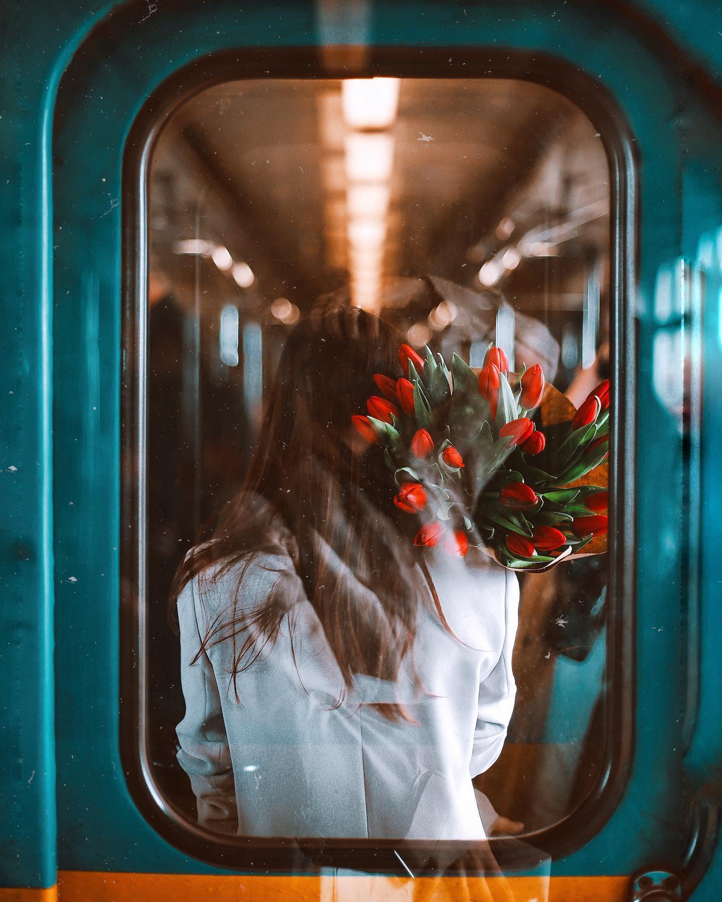 Романтика в метро от @july.rom
