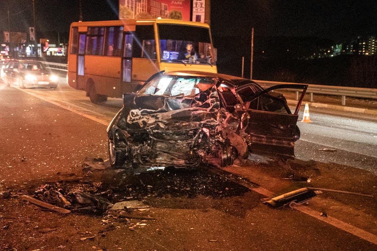 14 марта под Киевом, на въезде в Ирпень, произошло смертельное ДТП с участием трех автомобилей