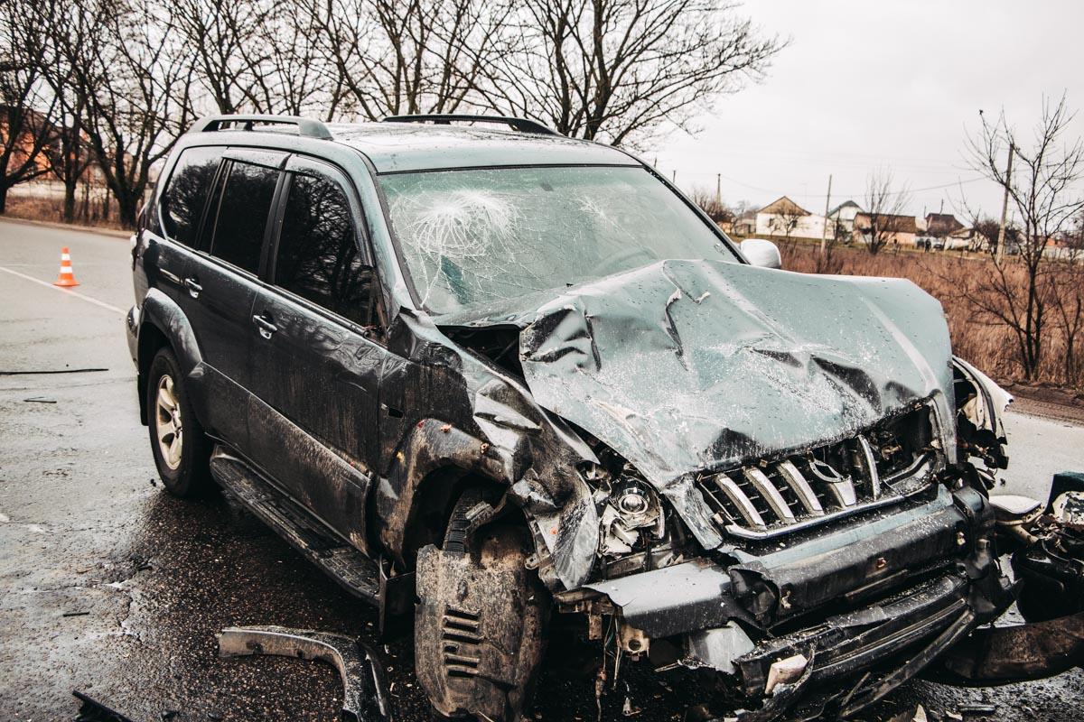 Водитель Toyota не пострадал