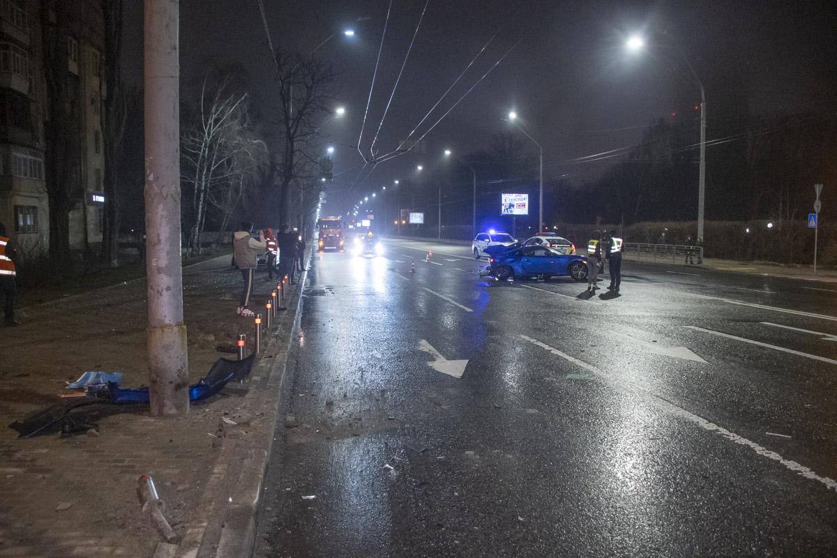 Предварительная причина трагедии: скорость и мокрая дорога