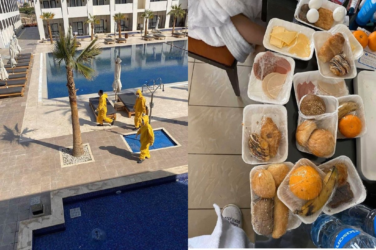 Украинцев с подозрением на коронавирус закрыли в отелях Египта
