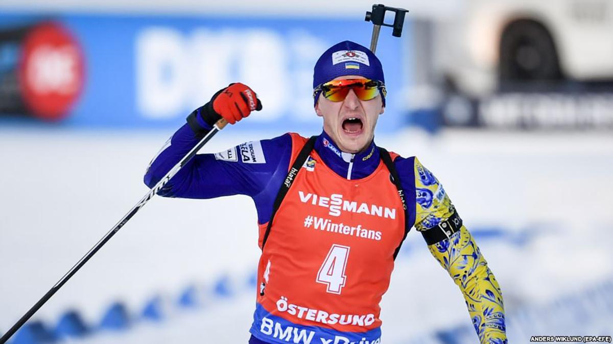 Дмитрий Пидручный финишировал четвертым в масс-старте седьмого этапа Кубка мира