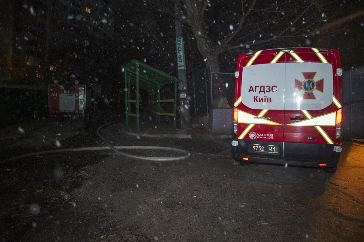 Около 02:10 нам стало известно, что в этом здании снова произошел пожар