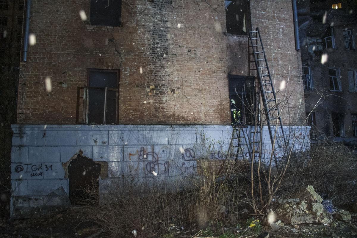 Общая площадь пожара составила 70 квадратных метров