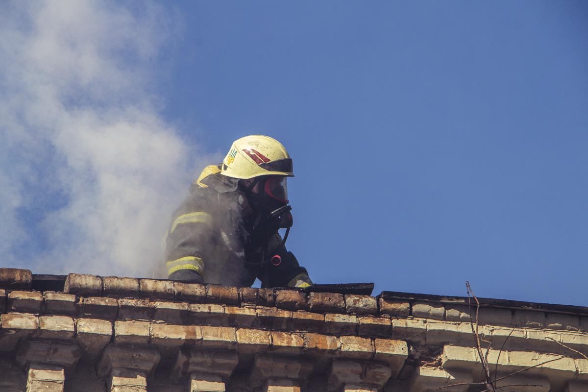 Со стихией боролись около 30 спасателей ГСЧС