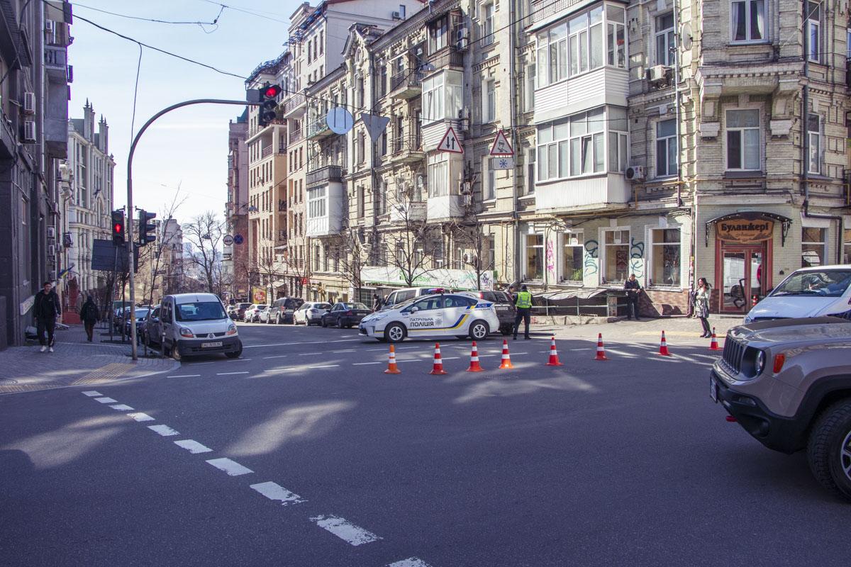 Улицу Гончара на время работы спасателей перекрыли