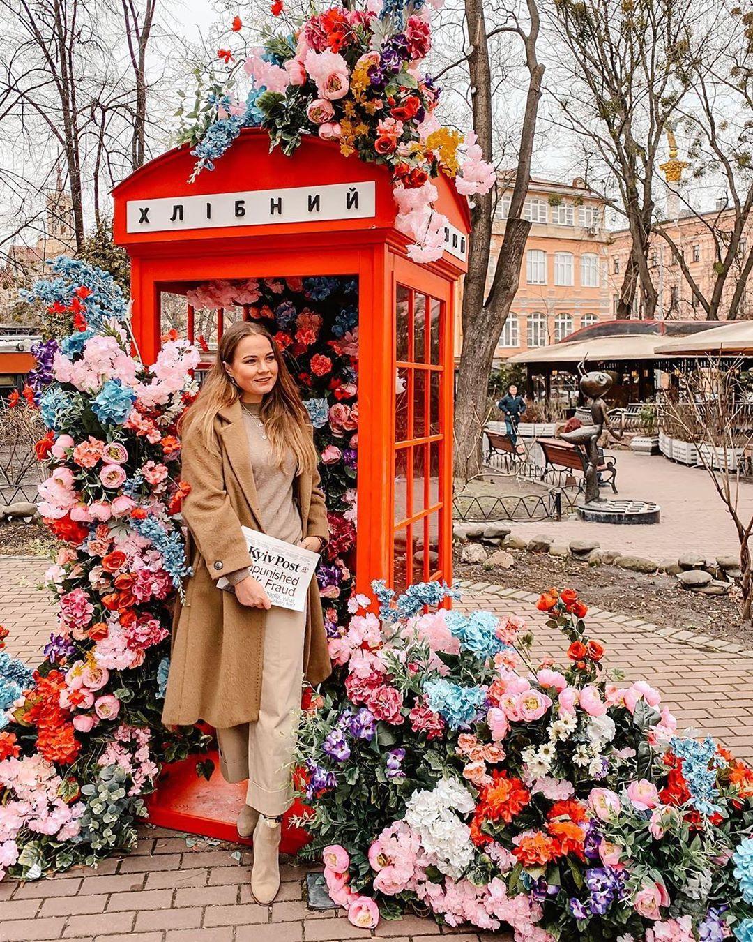 И вообще в Киеве в это время очень много цветов и цвета. Доказывает @like.lexy