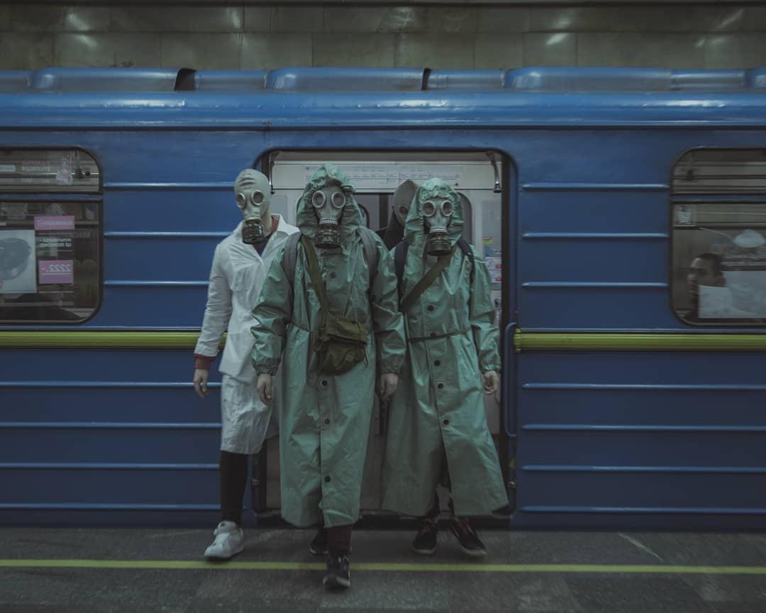 Немного сюрреализма в условиях современного Киева от @iambeiev