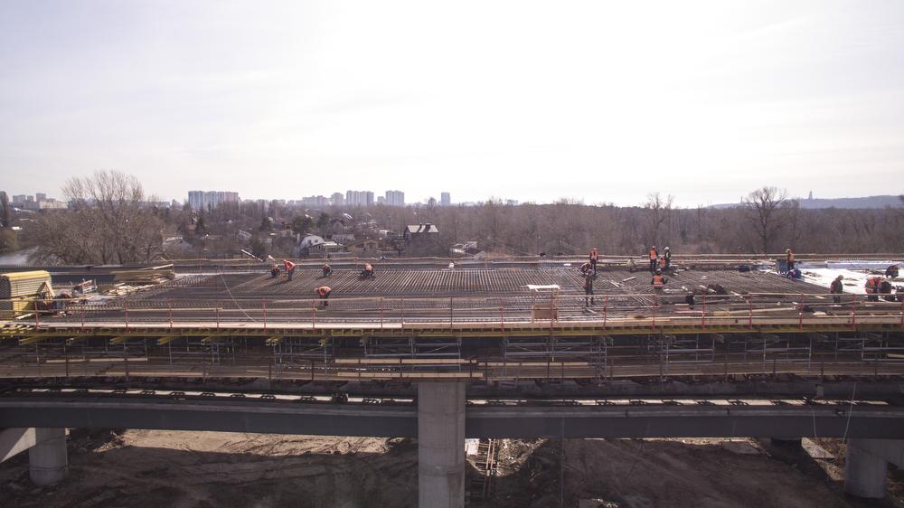 Завершение строительства моста позволит возобновить строительство метро на Троещину