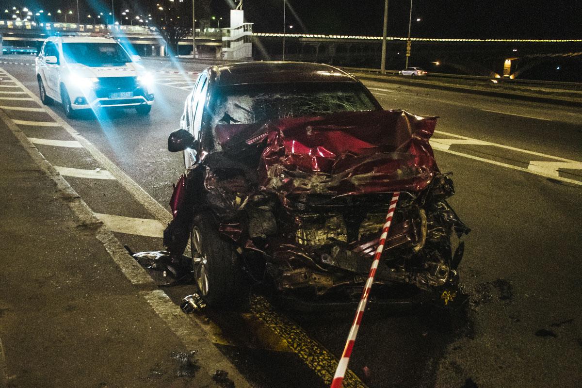 На Набережном шоссе столкнулись Volkswagen и Subaru