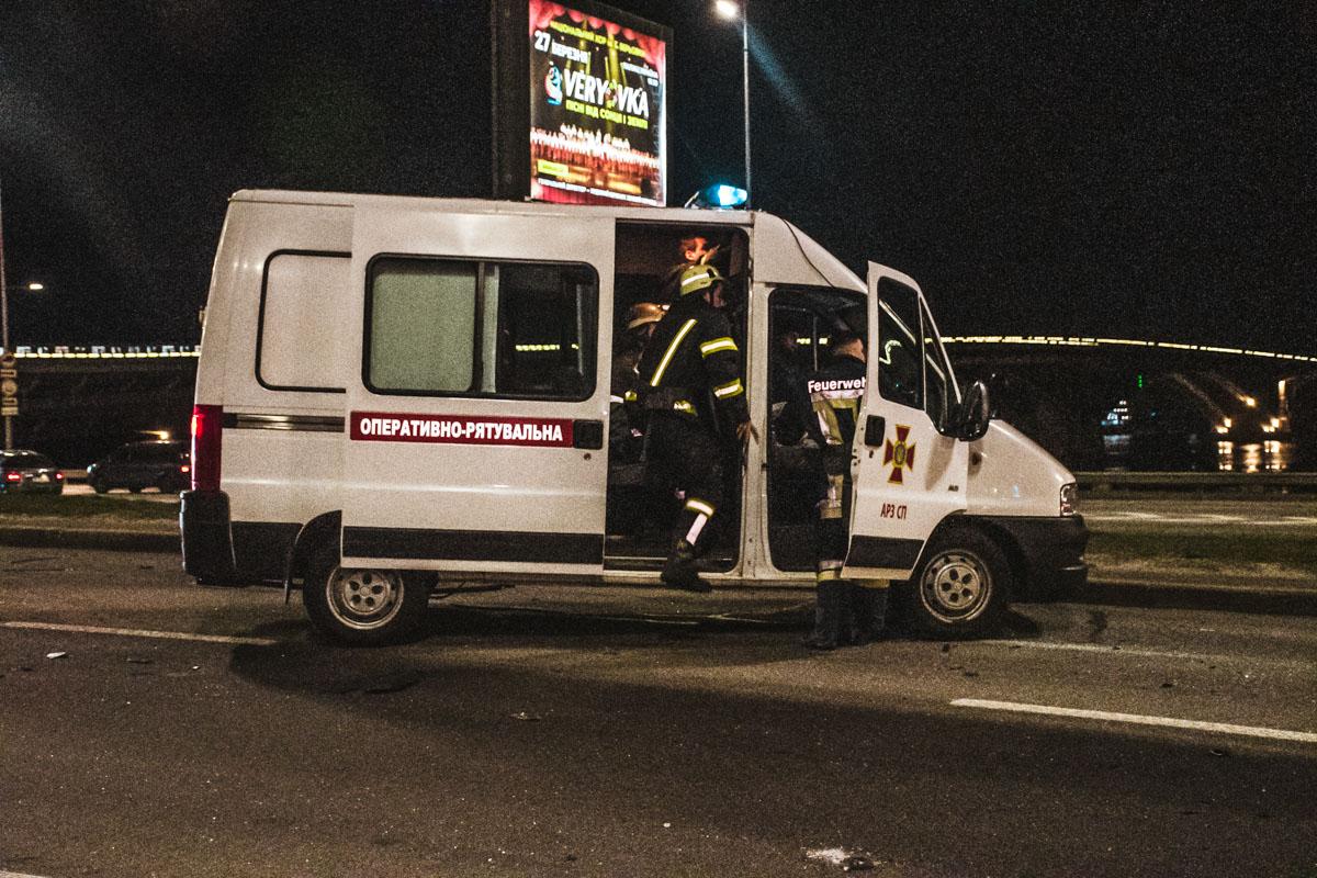 Инцидент случился около 00:00