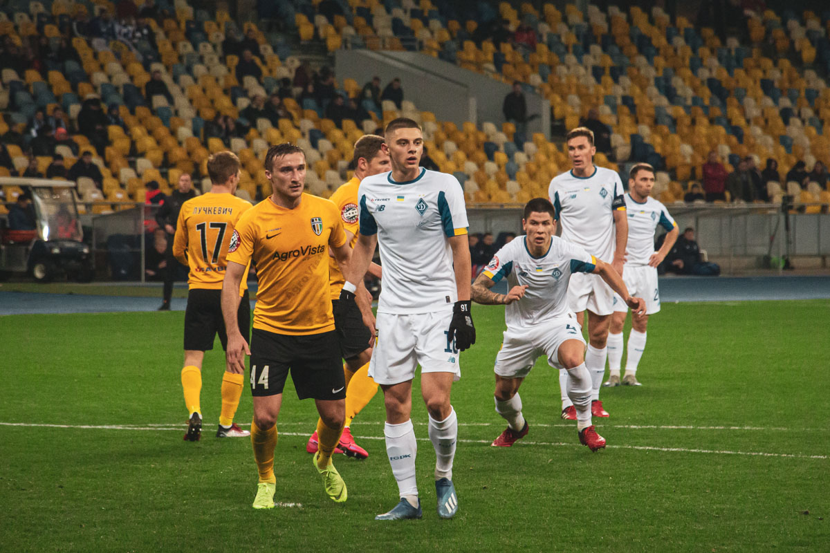 Виталий Миколенко и Денис Попов так ничего и не извлекли из стандартных положений