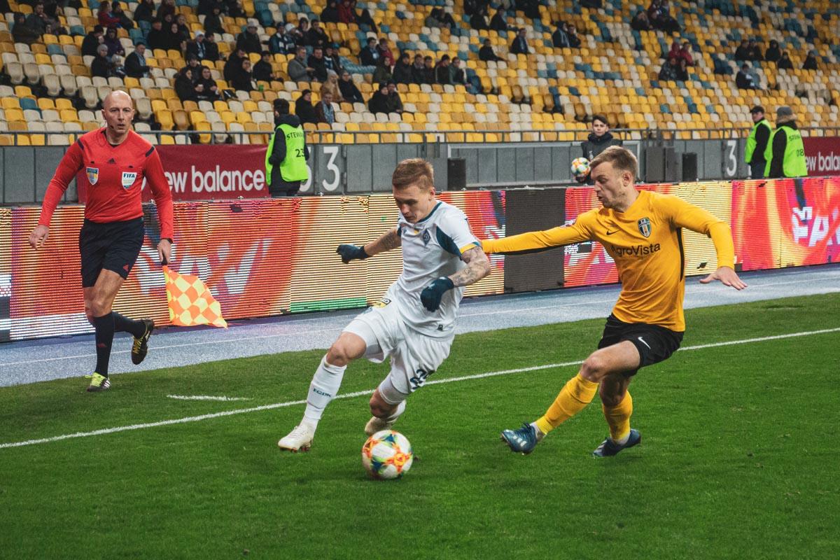 Виталий Буяльский был активен в атаке
