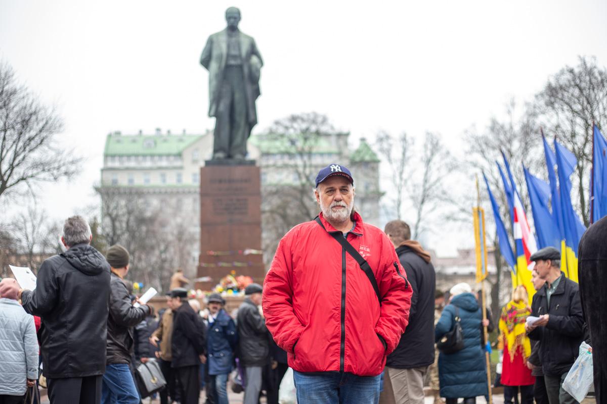 Жители Киева почтили память Кобзаря