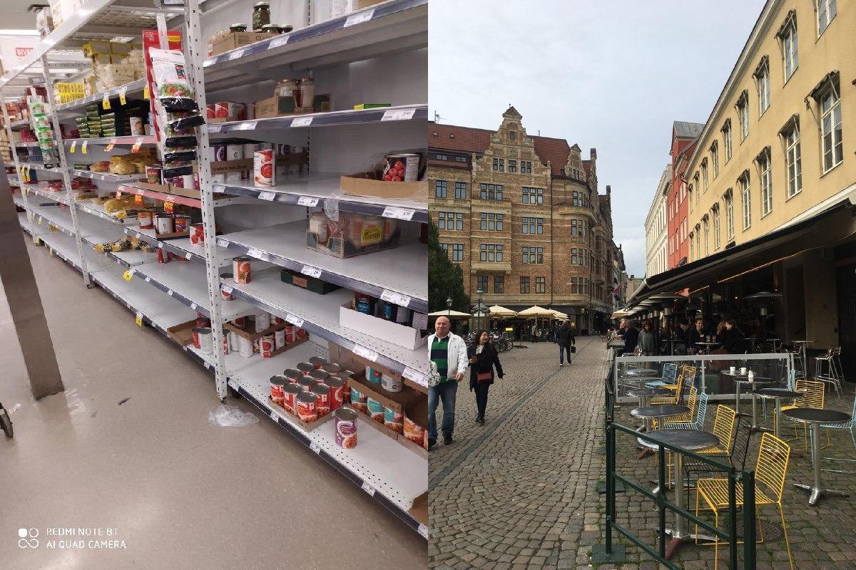 Швеция тоже спокойная в силу возможностей