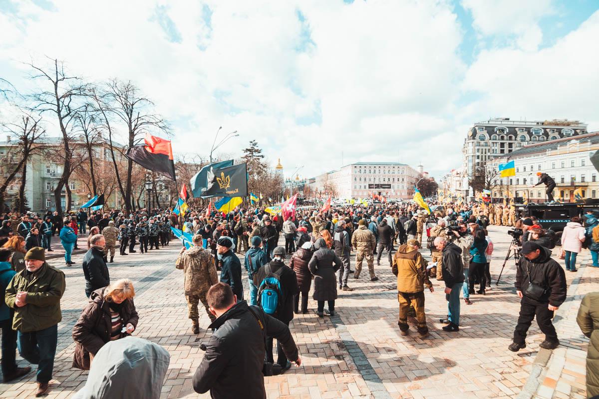 14 марта в Украине отмечается день добровольца