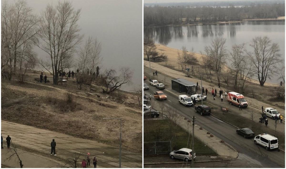 В Киеве из Днепра выловили человеческие части тела