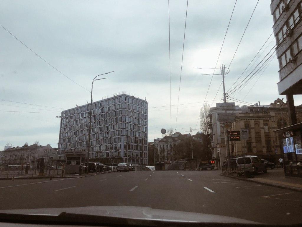 """Эспланадная, в сторону """"Олимпийского"""""""