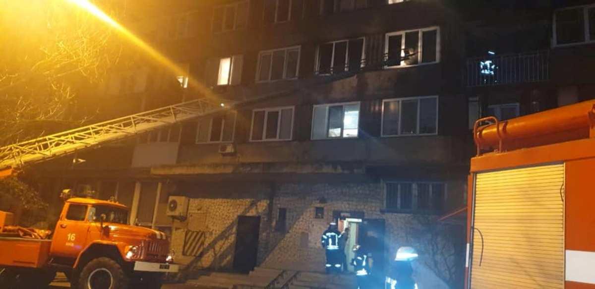 Сгорела квартира на 3-м этаже
