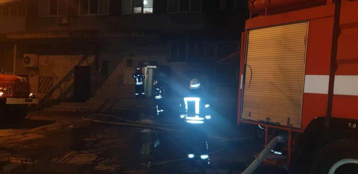В результате пожара сгорели два человека