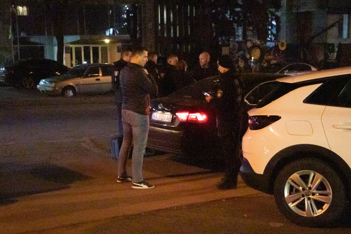 В Киеве на Печерске подстрелили мужчину