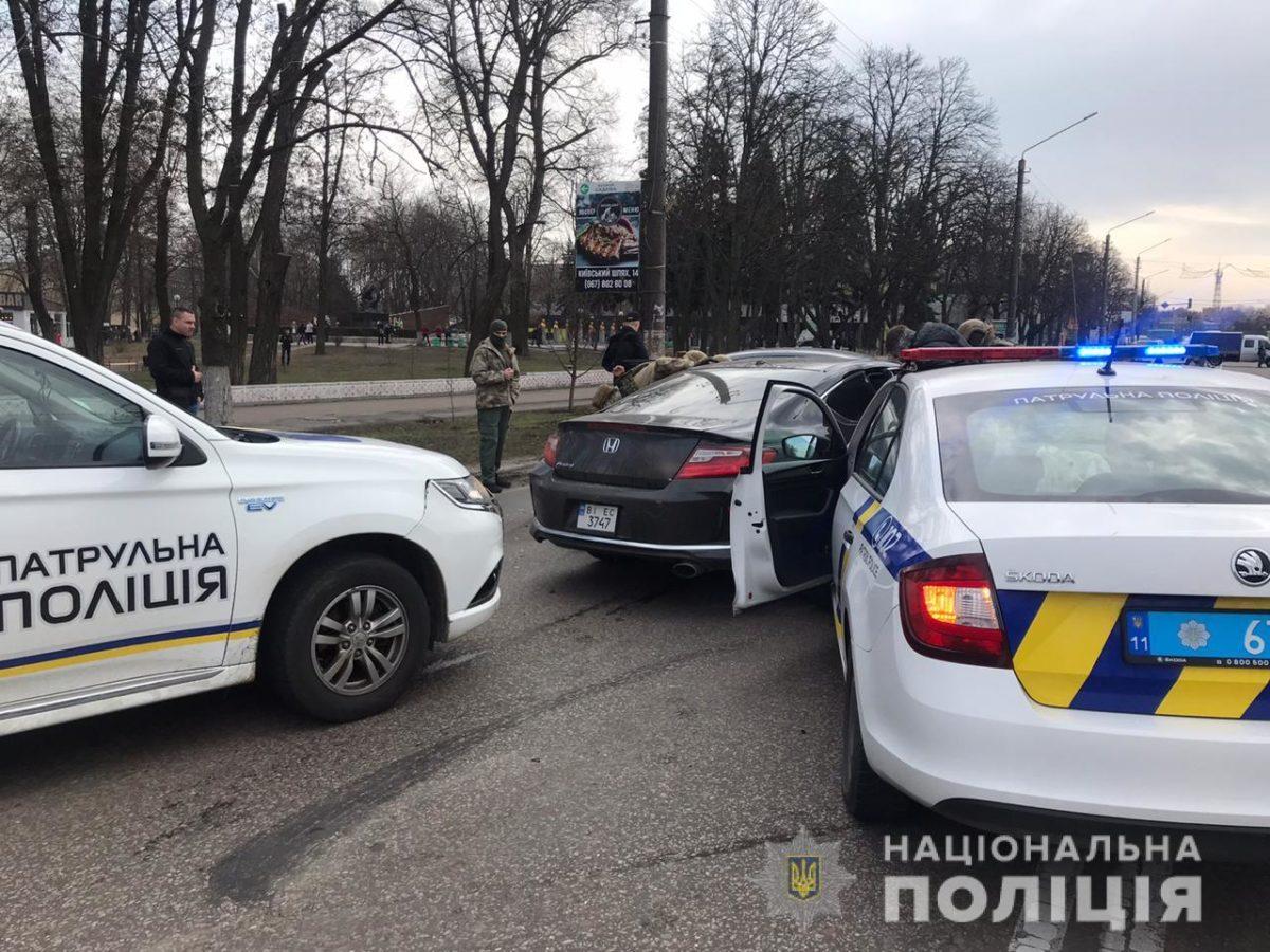 В Борисполе спецназ КОРД задержал серийного угонщика автомобилей