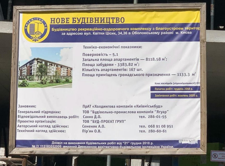 Застройщик получил землю в 15-летнюю аренду для строительства рекреационно-оздоровительного комплекса