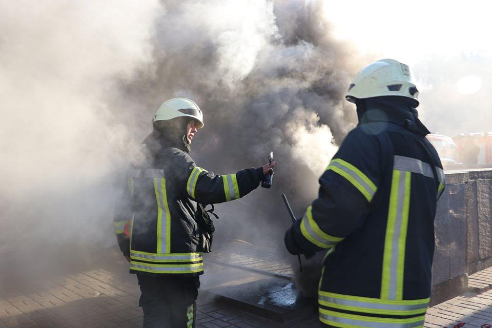 В 08:40 пожарные локализовали пожар, а в 9:33 потушили