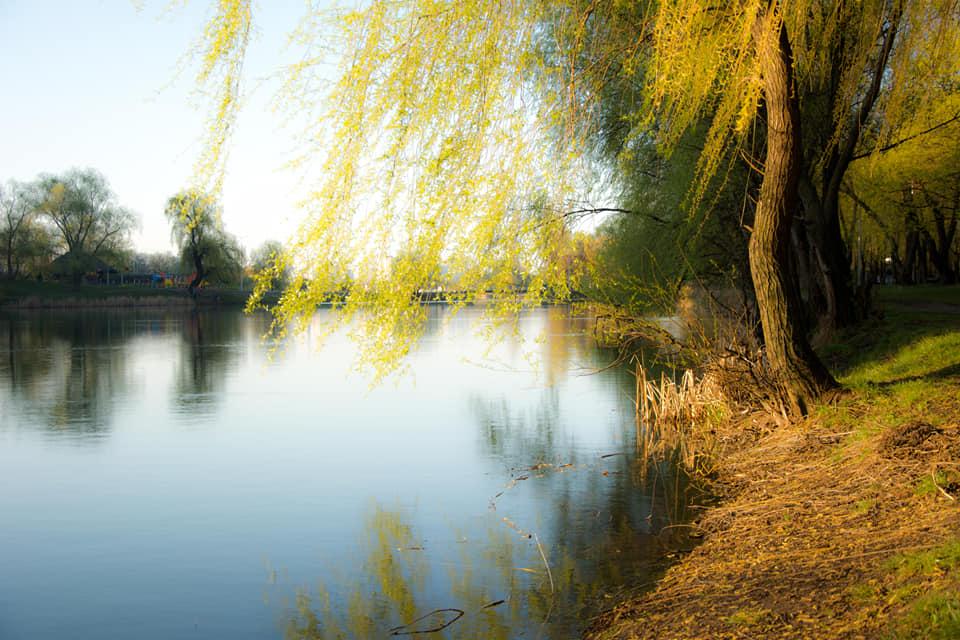 Кстати, длина озера около 3километров, ширина— до 600 метров